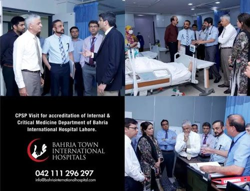 CPSP Visit for accreditation of Medicine Department