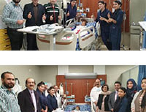 Successful Open Heart Surgery Of A Two Year Old Girl
