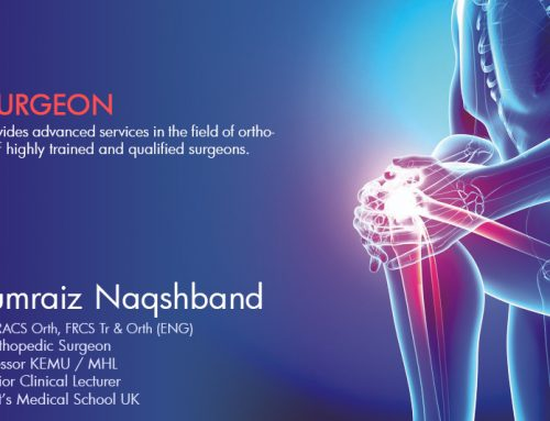 Meet our Internationally qualified and trained Orthopedic Surgeon