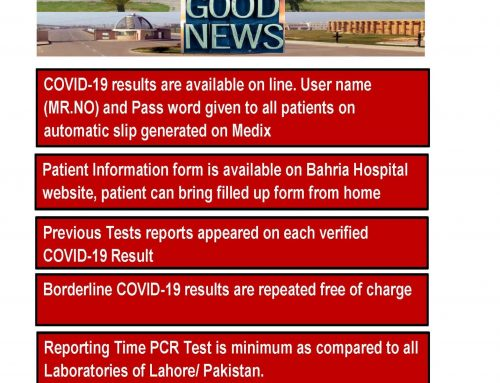 Good News About COVID-19 PCR Lab