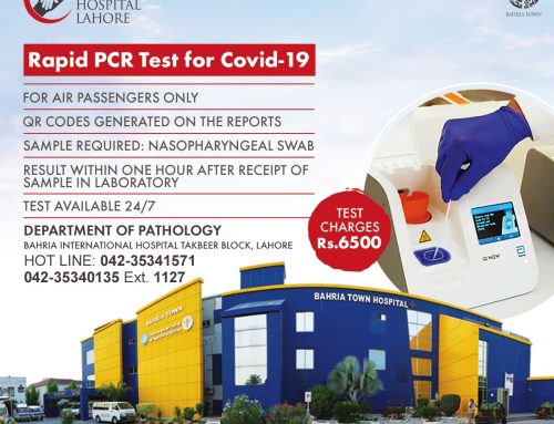 Rapid PCR Test for Covid-19
